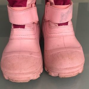 Tundra Shoes - Girls Tundra ❄️ Quebec Snow Boots ❄️ Size 12